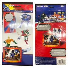 BATMAN The Brave And The Bold STICKER PLAY SCENE 10 STICKERS INCLUDED 02/10