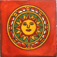 ARTISANS GALLERY- HANDMADE MEXICAN TILE ART-  WALL FLOOR TALAVERA CERAMIC