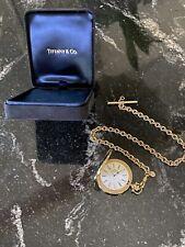 Tiffany & Co. Gold-Electroplated Portfolio Pocket Watch
