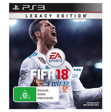 FIFA 18 Legacy Edition PS3 Sony Playstation 3 New Sealed AUS