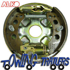 Alko Right Hand 230 x 61 Brake Backplate Assembly inc shoes, adjuster & expander