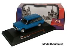 Lada VAZ 2104 Kombi in Blau Bj 1985 1:43 IXO / IST ist158 NEU & OVP
