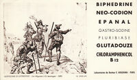 Buvard  Biphédrine  Alpinisme d'autrefois  PL XXIX