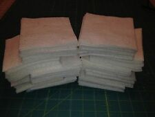 "50~6"" Rag Quilt Warm & Natural Batting Squares"