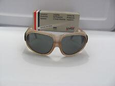 UVEX S102 Safety Glasses Cricket 9180 Gray Lens Brown Frame Ultradura Hardcoat