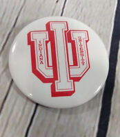 "Vintage Indiana University Pinback Button Badge Pin 2.25"" Hoosiers"