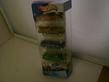2002 HOT WHEELS 5 CAR GIFT PACK CAMOFLAMAGE SUPER PAQUETE COFFRET NEW MIB