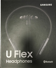 Samsung U Flex Bluetooth Wireless In-ear Flexible Headphones with Mic - Black