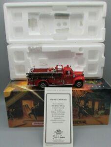 MATCHBOX MODELS OF YESTERYEAR YYM35810 MACK B-95 PUMPER FIRE ENGINE SERIES