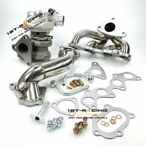 Fit Toyota EP82 EP85 EP91 4EFTE Starlet 1996-99 Turbo 49377-04300 +Manifold+Pipe