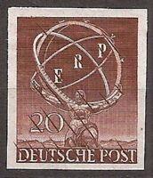 s1700) Berlin ERP MiNr 71 PU postfrisch geprüft Schlegel BPP KW 1000 Euro