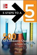 SALE!!  NEW, 5 Steps to a 5 on the AP Exam, 500 AP Chemistry Questions, OBO