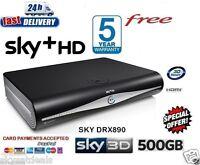 SKY HD BOX + HD BOX 500 GB AMSTRAD DRX890C 3D READY ON DEMAND 2016 VERSION