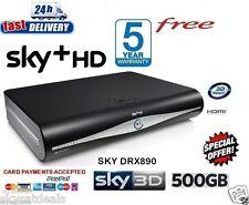 SKY BOX HD + BOX HD 500 GB AMSTRAD drx890c 3d Ready su richiesta versione 2016