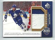 Nazem Kadri Toronto Maple Leafs 2014-15 SP Authentic Winter Classic Patch Card