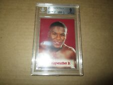 2001 Brown's Boxing FLOYD MAYWEATHER JR. CARD BECKETT MINT 9