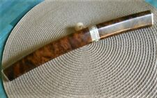 Handmade Collectible Tanto Style Knife By artist-engraver Ray Cover Jr., Mint