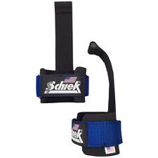 Schiek Sports Model 1000-DLS Deluxe Dowel Lifting Straps - Blue