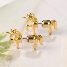 Flying Unicorn/Horse Pegasus Ear Illusion Stud Earring SH