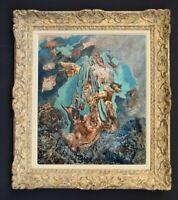 LILY MASSON (1920-2019) Fille du peintre André MASSON // Oeuvre Surréaliste (68)