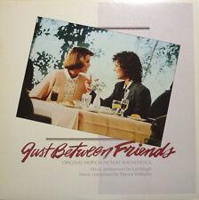Soundtrack: Just Between Friends (1986 US Gold Foil Stamped Promo LP) EARL KLUGH