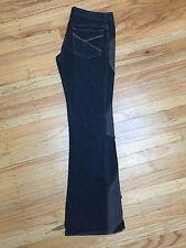 MNG Jeans low rise dark blue wash, boot cut, 100% cotton, sz 38 EU (4 US)