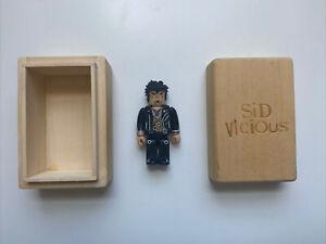 Sid Vicious 100% Kubrick 2002 Sex Pistols Wooden Box Not Bearbrick Rare Limited
