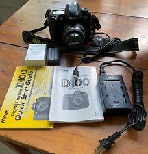Nikon D100 BODY and AF Nikkor 35-70mm Lens w/New Battery Orig. Owner, Tested