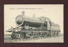 GWR Railway Six Coupled Goods Locomotive #2610 c1910/20s PPC some spotting