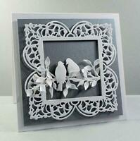 Square Frame Metal Cutting Dies Card Making Scrapbooking Album Embossing Craft