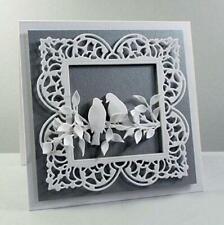 Square Frame Metal Cutting Dies Card Making Scrapbooking Album Embossing Craft