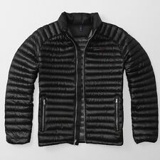 Abercrombie and Fitch Ultra Lightweight Down Black Puffer Jacket - Small