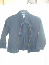 POLO RALPH LAUREN Boys Navy Blue Casual Jacket   SIZE S (8-9 YEARS)
