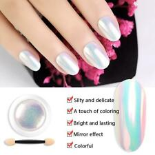 Transparent n Shell Glimmer Nail Art Polish Shiny Glitter Varnish  rate