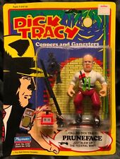 """1990 Playmates Dick Tracy Pruneface Figure 5"""" In Package"""