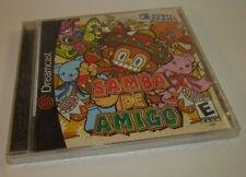 Brand NEW Factory Sealed Samba de Amigo (Sega Dreamcast, 2000) Game **READ**