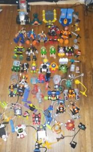RESCUE HEROES MATTEL FISHER PRICE LOT FIGURESACCESSORIES vehicle backpacks mix