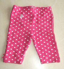 Pantalon rose et blanc neuf taille 12 mois marque Grain de Blé