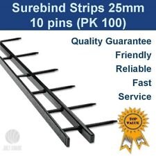 Velobind Binding Strips - 10 pin 25mm (box 0f 100)