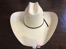 "BUSINESS LIQUIDATION: Texas Hat Co 10X Tan ""All Around"" Straw Cowboy Hat 6 3/4"