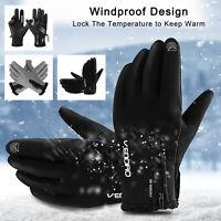 For Men Women Winter Warm Gloves Windproof Waterproof Thermal Touch Screen Ski