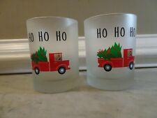 """Culver Ltd, """"Ho Ho Ho"""" Double Old Fashion Glasses – Set of 2"""