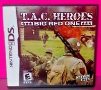 T.A.C. Heroes Big Red One - Nintendo DS DS Lite 3DS 2DS Game Complete + Tested