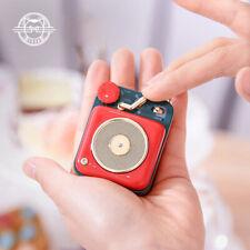 MAO KING Muzen Radio Red Portable Mini Bluetooth Subwoofer Vintage Audio Speaker