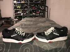 Reebok Classic Royal Flag Low Mens Basketball Shoes Size 11 Black White Red