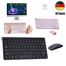 Wireless Keyboard Funk 2.4GHz Mini Tastatur Air Mouse Touchpad für PC Computer