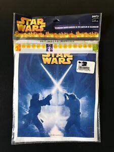 "Star Wars Party Express Hallmark ""Happy Birthday"" Celebration Banner 8ft long..."