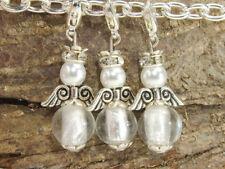 10 DIY Engel weiß aus Perlen zum selber basteln Gastgeschenk Party Perlenengel