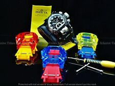Invicta 52mm Bolt Zeus Magnum Ocean Quest Swiss Chrono Strap Watch