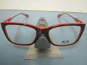 OAKLEY womens BLAMELESS 50/50 brown RX eyeglass frame OX1103-0552 NEW in O case